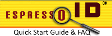 EspressoID Quick Start Guide & FAQ