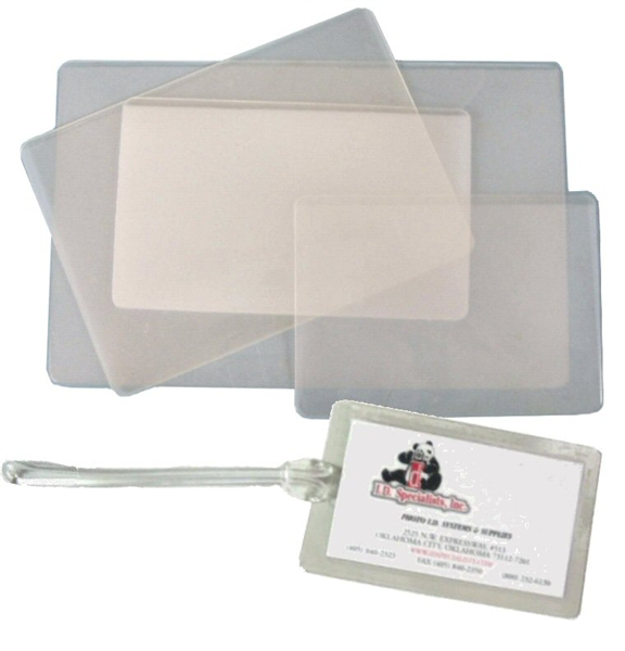 Picture of Lamination Pouch -  Luggage Tag Size