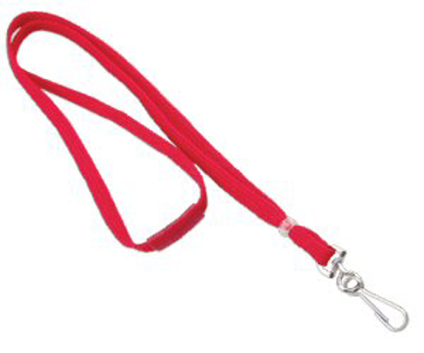 "Picture of 3/8"" Breakaway Lanyard - Optional colors & attachments."