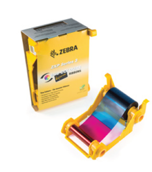 Picture of Zebra 800033-344 DuraSecure Color Ribbon with Security Features