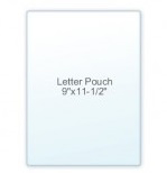 Picture of Lamination Pouch -  Letter Size