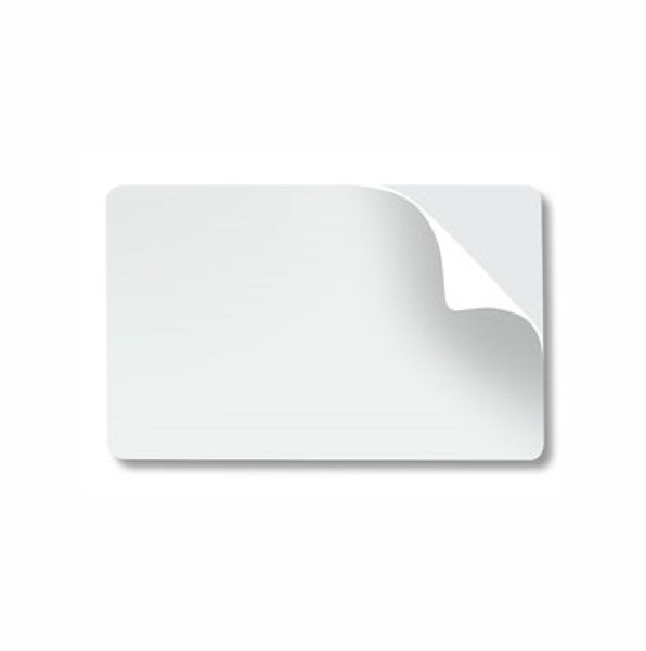 Picture of Fargo # 82266 10 mil PVC Card w/Adhesive Back