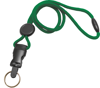 "Picture of 1/4"" Round Lanyard with a Breakaway, Round Slider & Your Choice of Detachable end pieces."