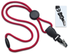 """Picture of 1/4"""" Round Lanyard with a Breakaway, Round Slider & Your Choice of Detachable end pieces."""