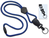 "Picture of 1/4"" Round Lanyard with a Breakaway, Diamond Shaped Slider & Your Choice of Detachable end pieces."