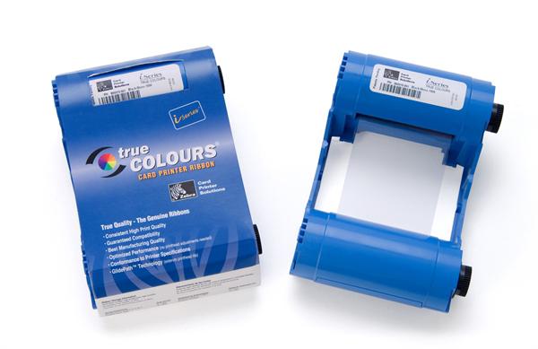 Picture of Zebra 800017-204 Blue Monochrome Ribbon - 1,000 prints